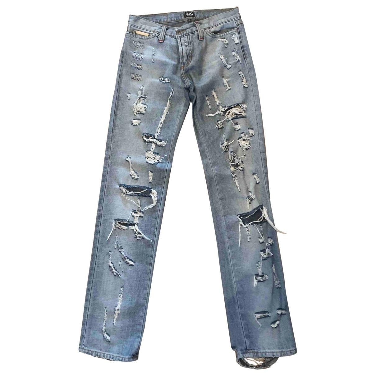 D&g \N Navy Denim - Jeans Jeans for Women 27 US