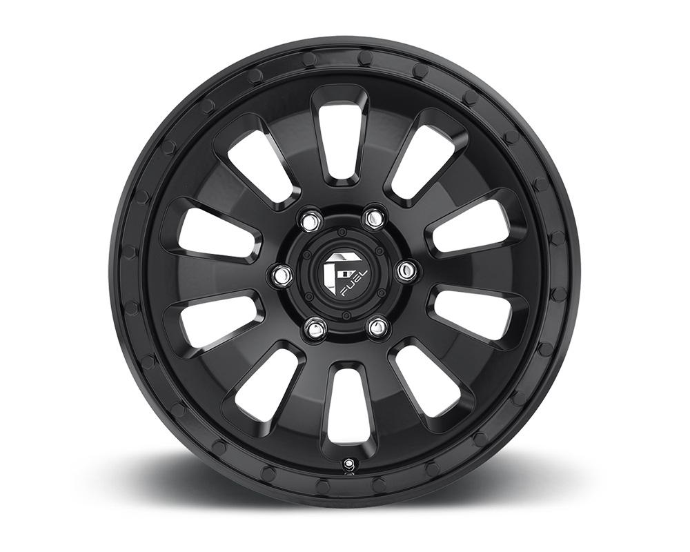 Fuel D630 Tactic Matte Black 1-Piece Cast Wheel 18x9 6x135 01mm