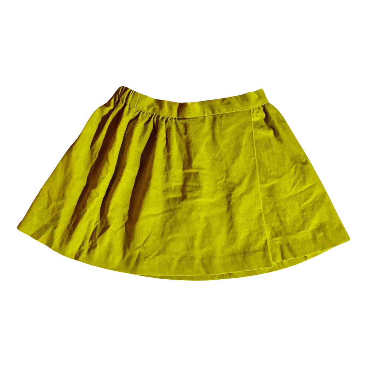 Massimo Dutti N Green Cotton skirt for Kids 10 years - up to 142cm FR