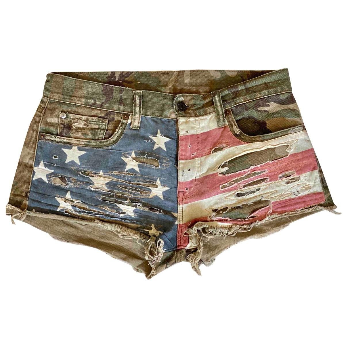Ralph Lauren \N Shorts in  Khaki Baumwolle