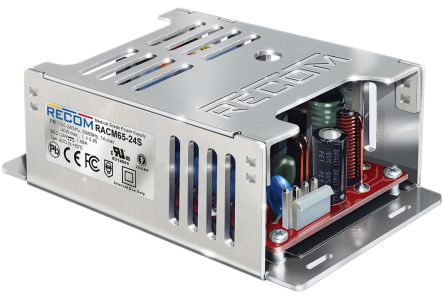Recom , 0.15W Embedded Switch Mode Power Supply SMPS, 24V dc, Enclosed, Medical Approved
