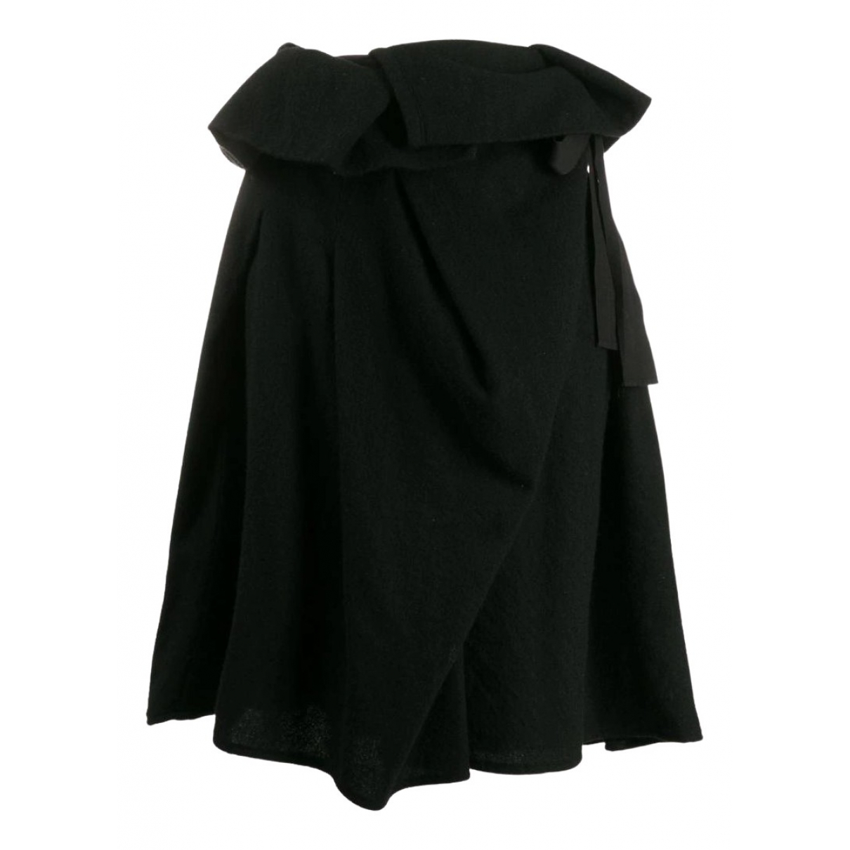 Comme Des Garcons - Jupe   pour femme en laine - noir