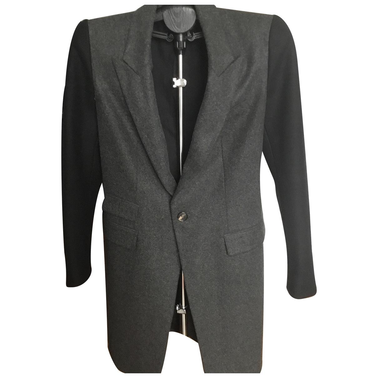 Diesel Black Gold - Manteau   pour femme en laine - anthracite