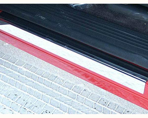 Quality Automotive Accessories 2-Piece Door Sill Trim Chevrolet Silverado 2500 2012