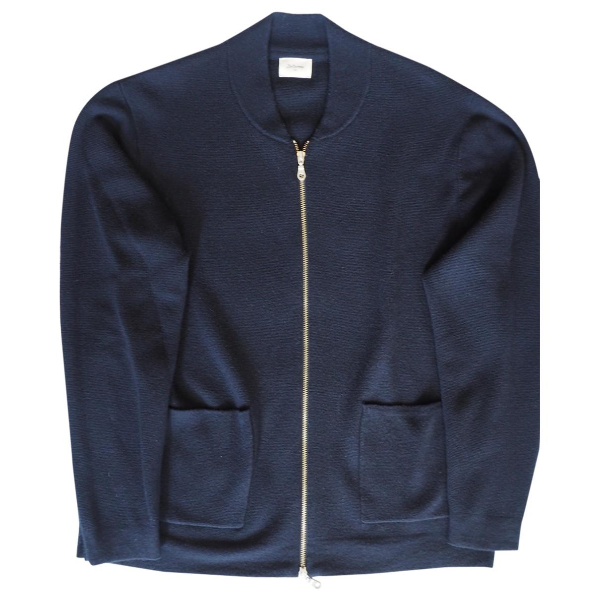 Bellerose \N Pullover.Westen.Sweatshirts  in  Blau Wolle