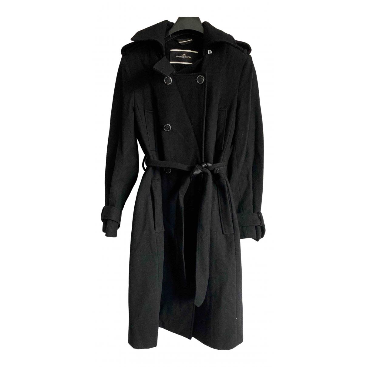 By Malene Birger - Manteau   pour femme en laine - noir
