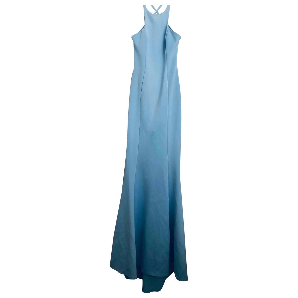 Asos - Robe   pour femme - bleu