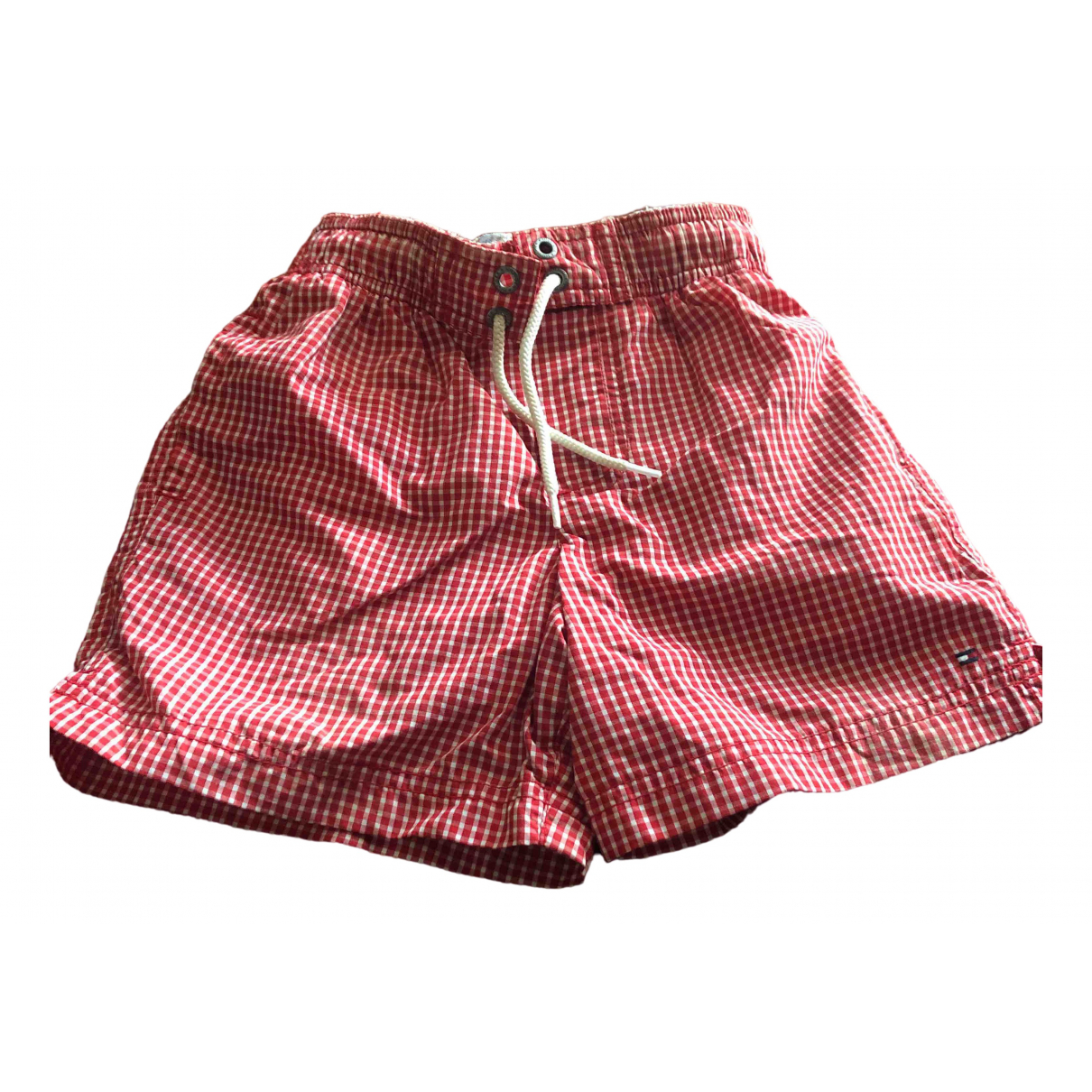 Tommy Hilfiger \N Red Cotton Shorts for Kids 6 months - up to 67cm FR