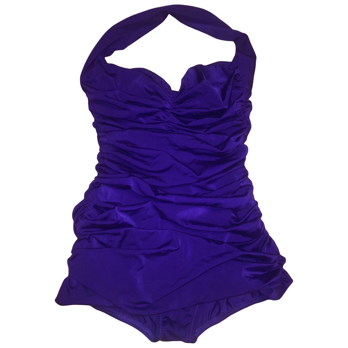 Norma Kamali \N Purple Swimwear for Women S International
