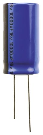 Vishay 10000μF Electrolytic Capacitor 16V dc, Through Hole - MAL203855103E3 (5)