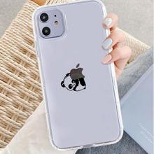 Cartoon Panda iPhone Case