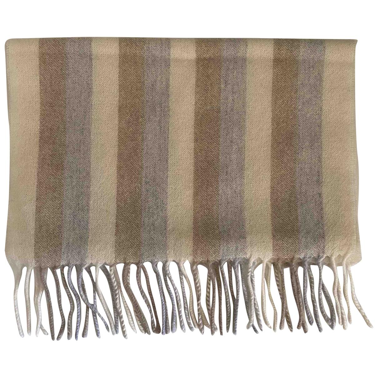 Brunello Cucinelli \N Beige Cashmere scarf for Women \N