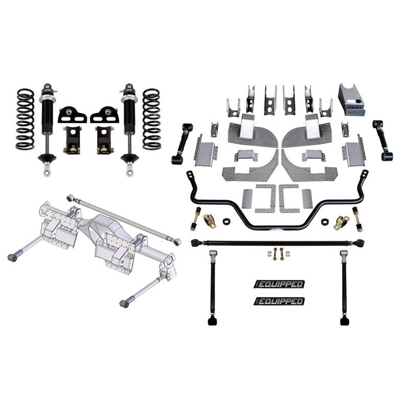 Detroit Speed 41642 Rear Speed Kit 3 82-92 F-Body Base Shocks Stock Axle