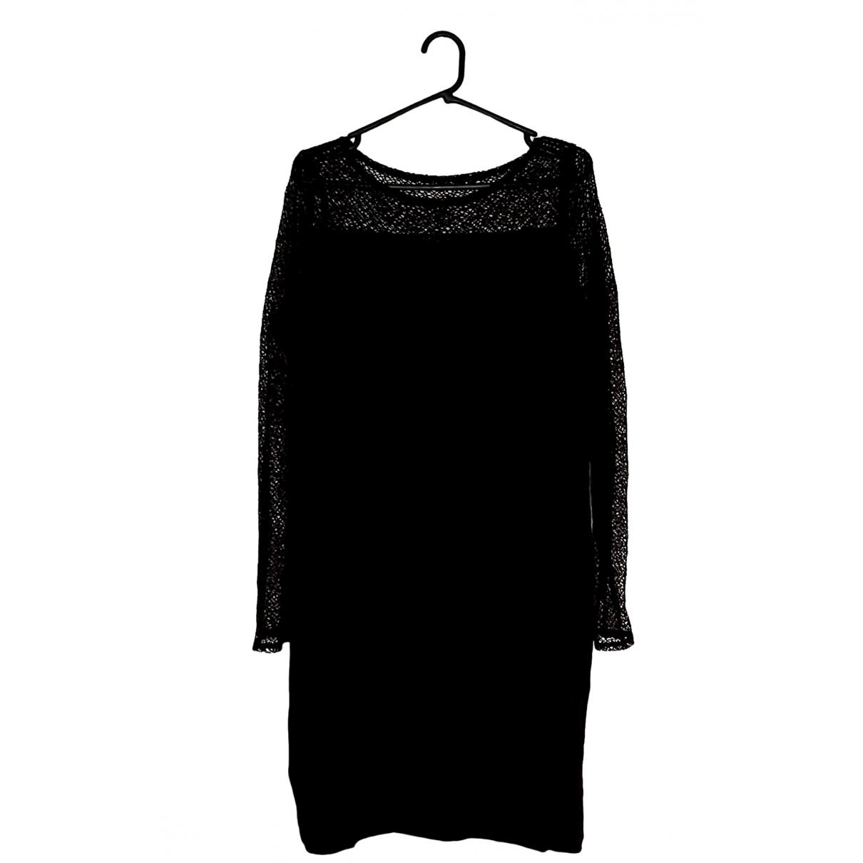 Eileen Fisher \N Black Cotton - elasthane dress for Women L International