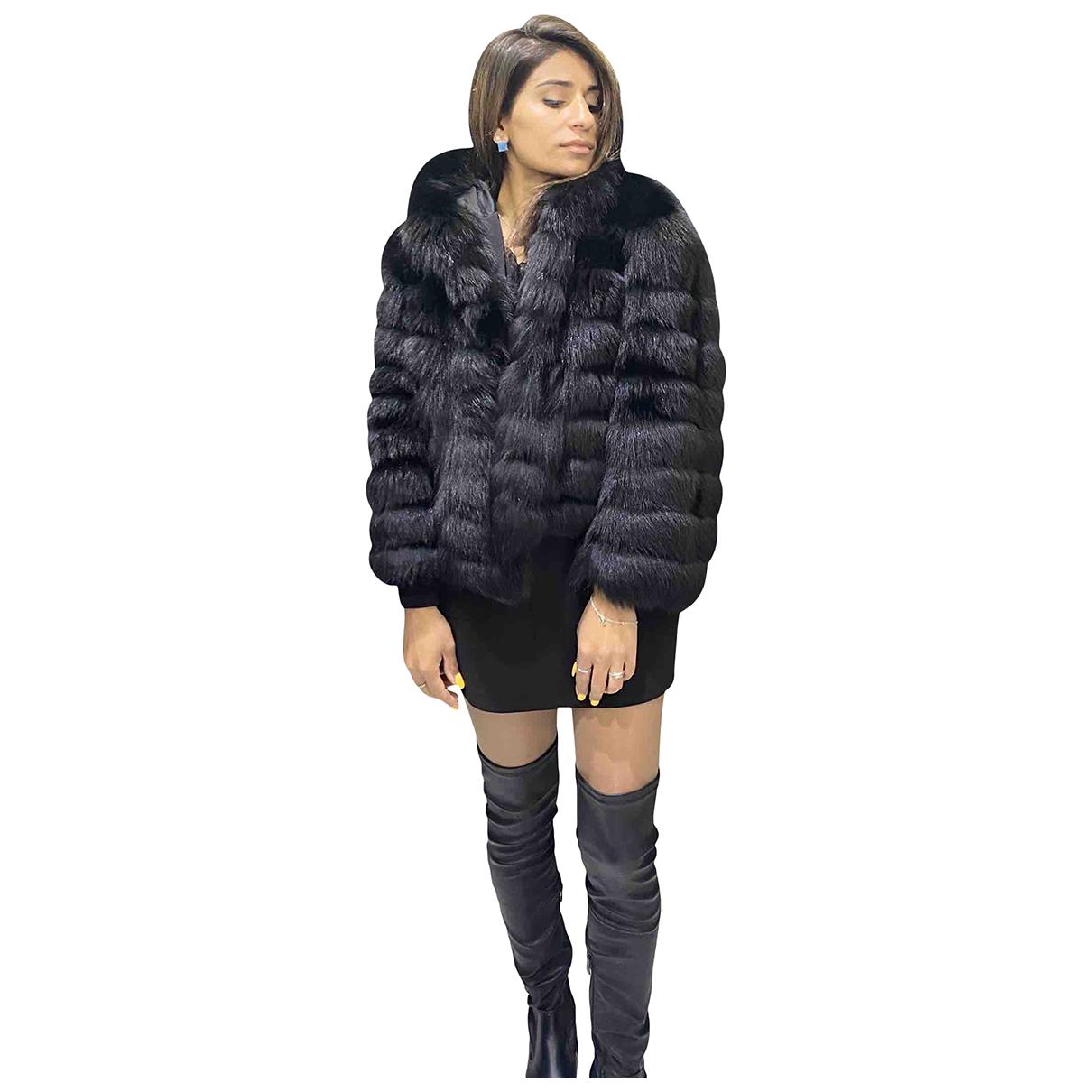Autre Marque N Black Fox jacket for Women 46 IT