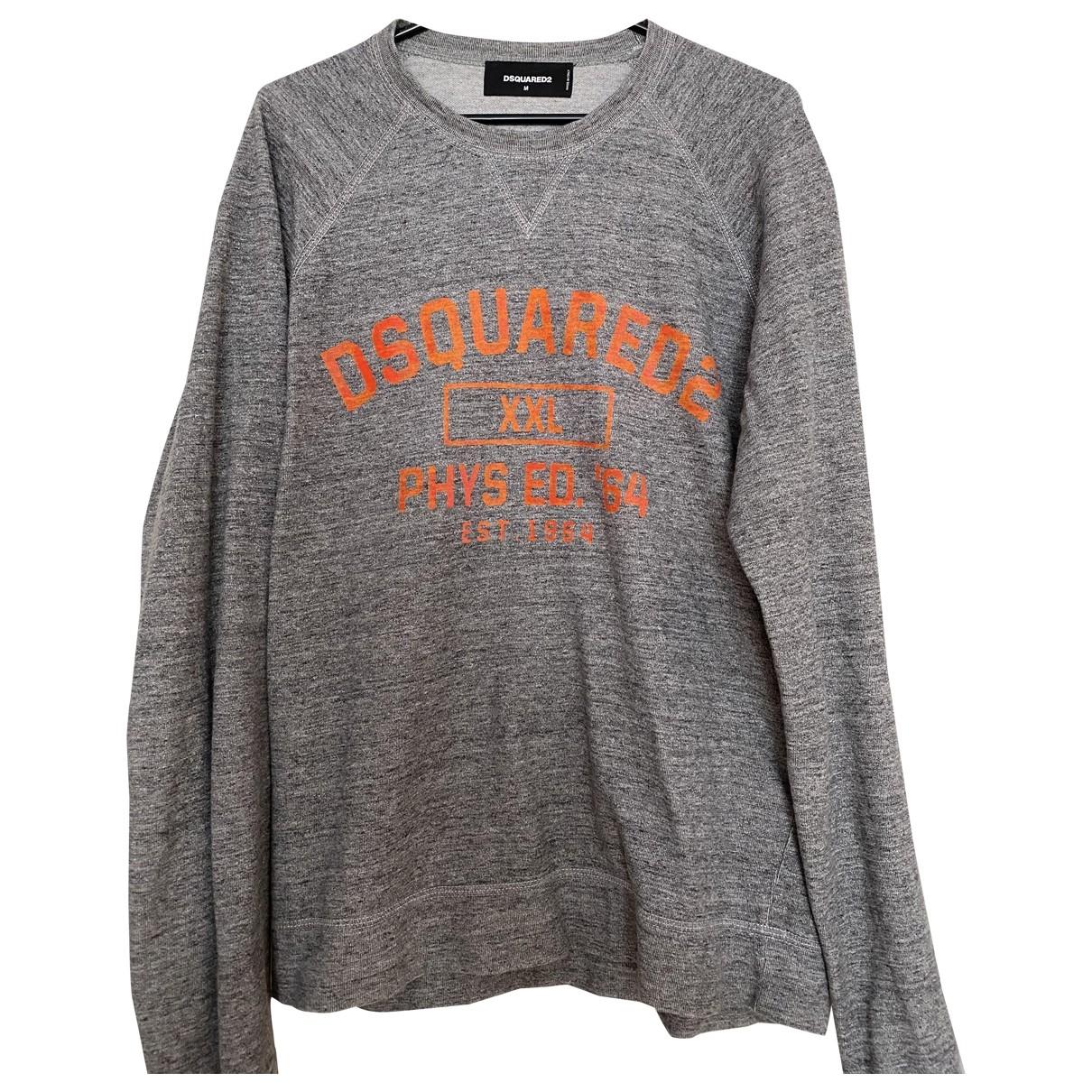 Dsquared2 \N Grey Cotton Knitwear & Sweatshirts for Men M International