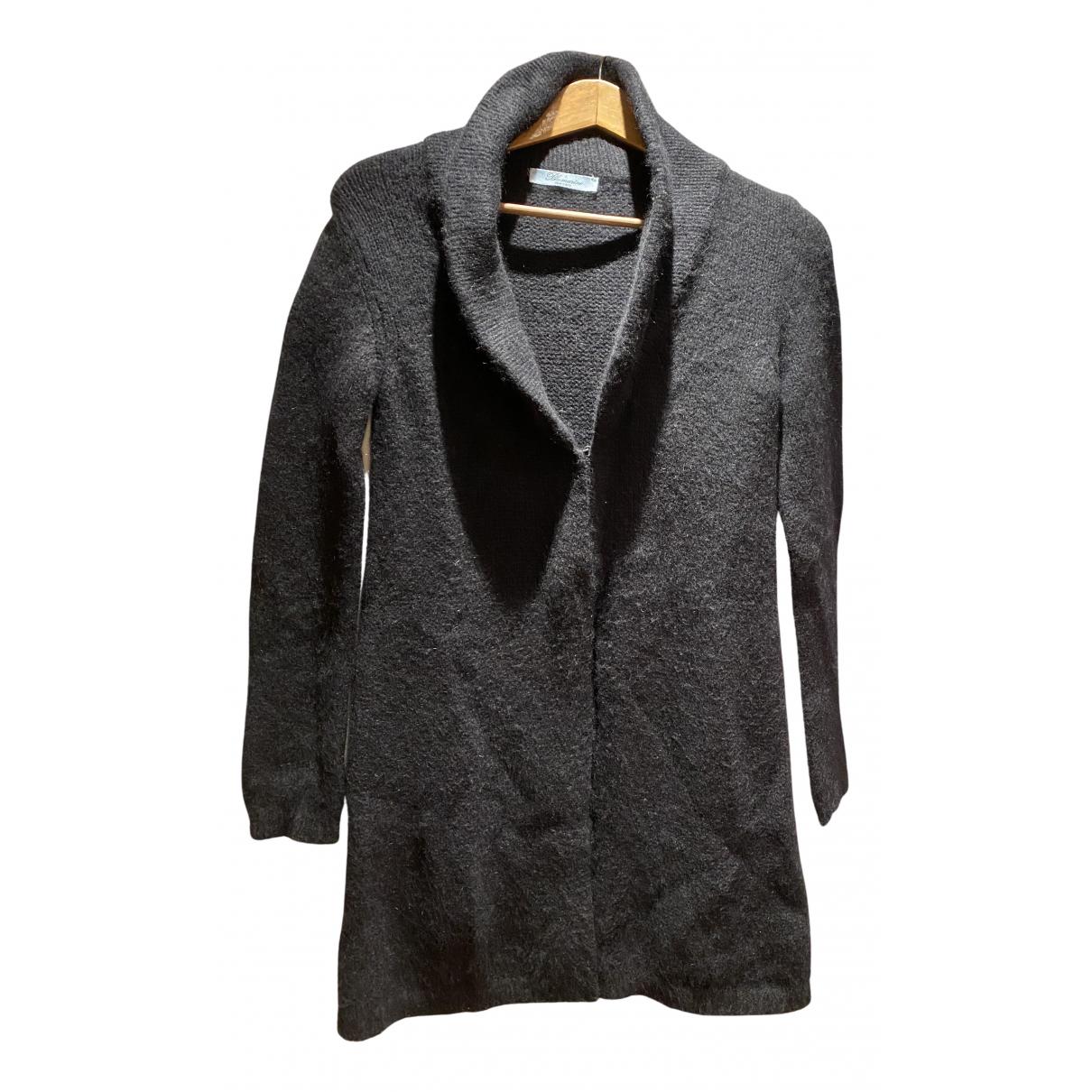 Blumarine - Pull   pour femme en laine - noir