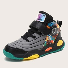 Zapatillas deportivas de niños con tira velcro