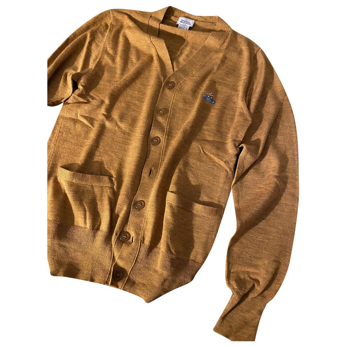 Vivienne Westwood \N Pullover.Westen.Sweatshirts  in  Kamel Baumwolle