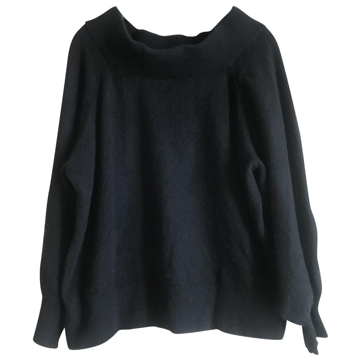 Rta - Pull   pour femme en cachemire - noir