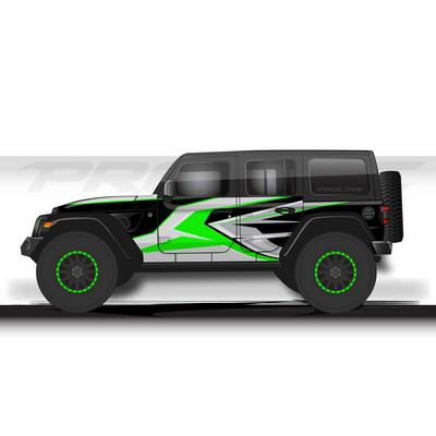 Proline Wraps JL Series Ridge Wrap (Green) - PLJL4-RDG-GRN