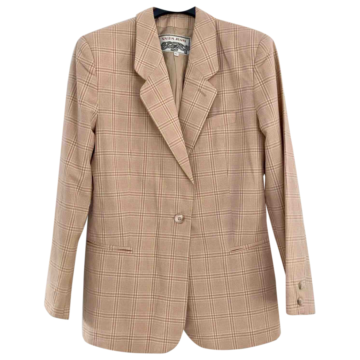 Krizia \N Pink Cotton jacket for Women 42 IT