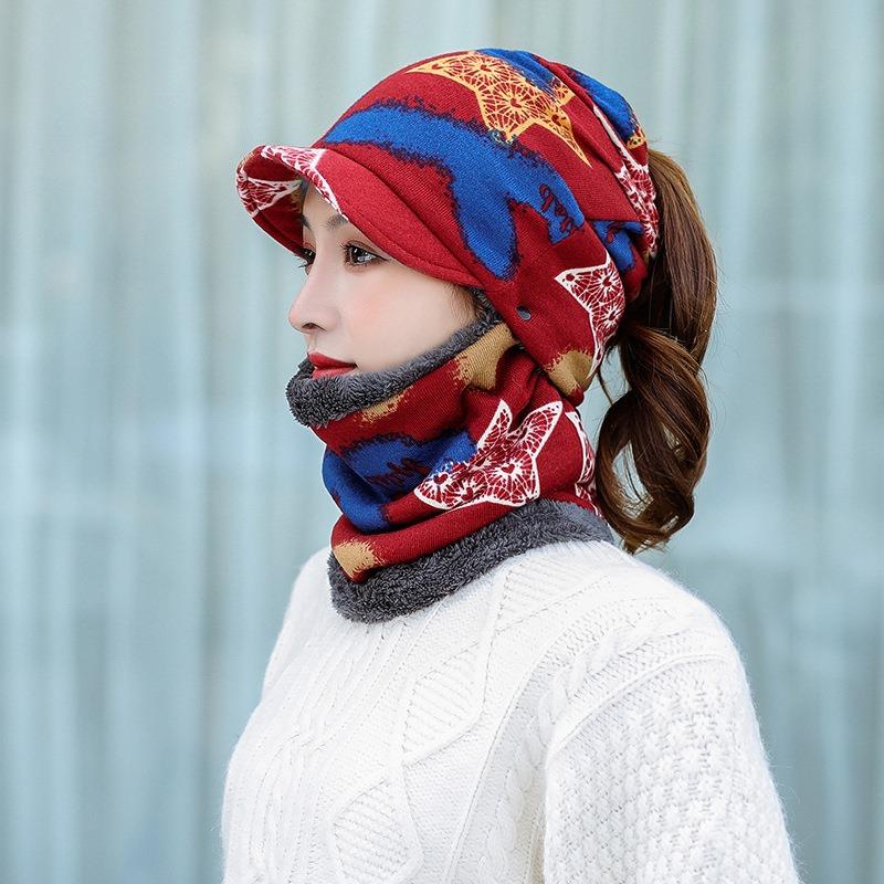 Ericdress Skullies & Beanies Fashion Plaid Winter Hats