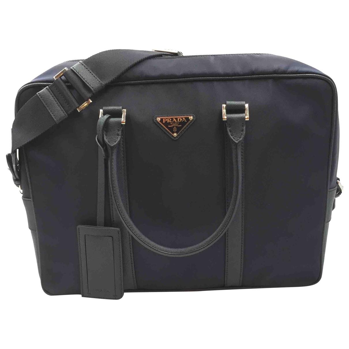 Prada \N Navy bag for Men \N