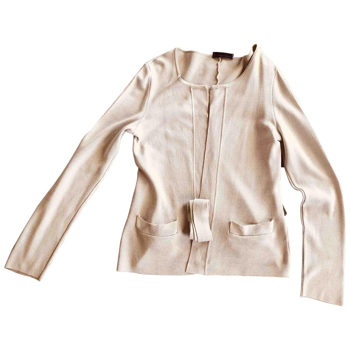 Alberta Ferretti - Pull   pour femme en coton - beige