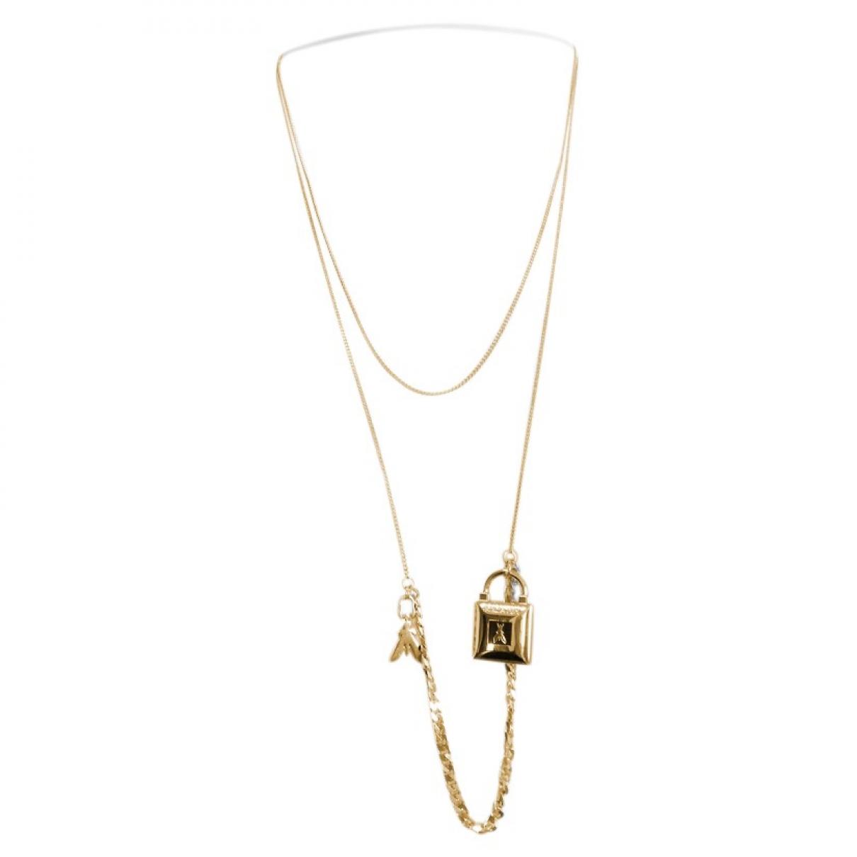 Patrizia Pepe \N Gold Metal necklace for Women \N