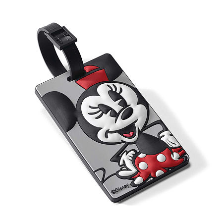 American Tourister Disney Minnie Mouse Luggage Tag, One Size , Multiple Colors