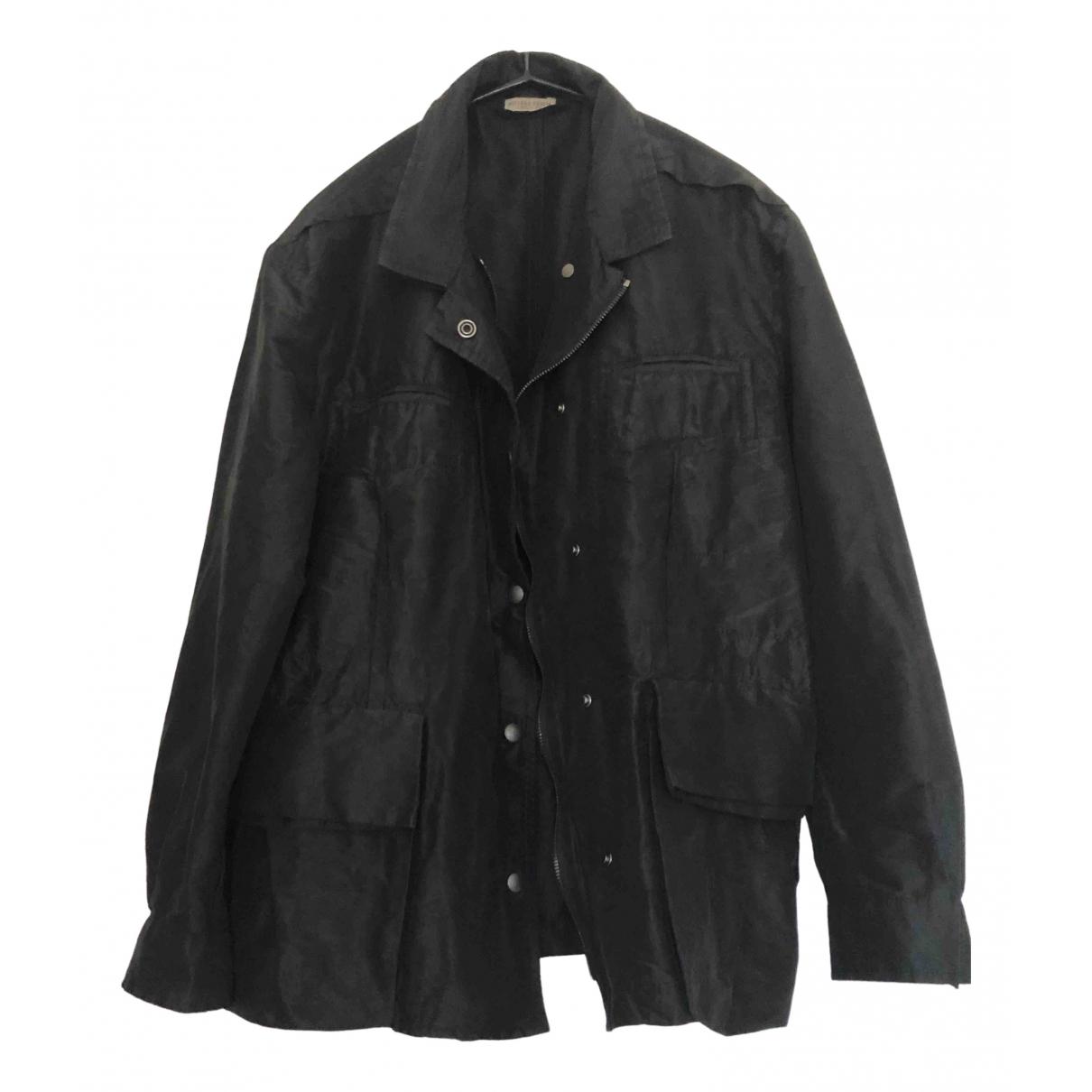 Bottega Veneta N Black Silk jacket for Women 40 IT