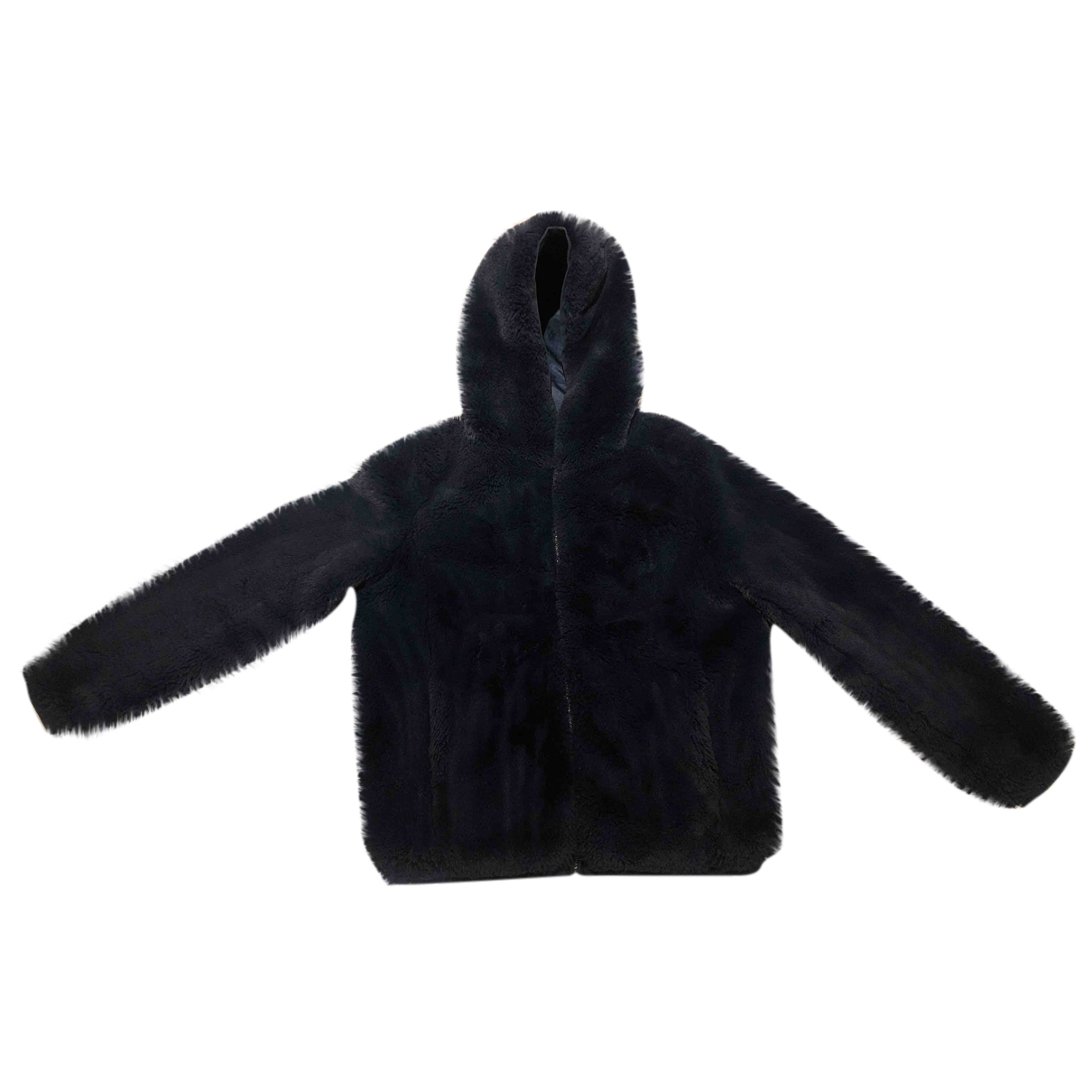 Maje - Manteau   pour femme - bleu