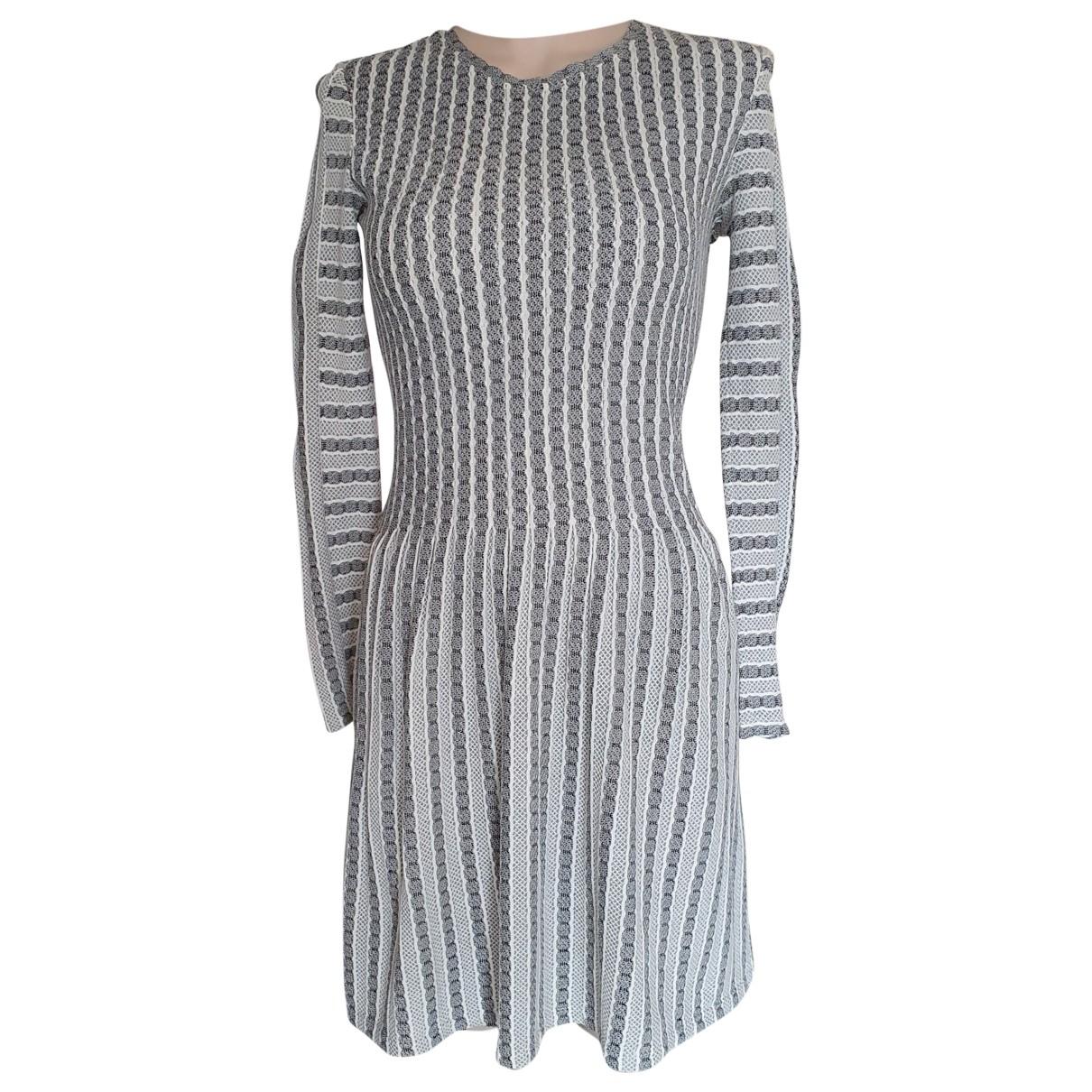 Bcbg Max Azria \N Kleid in Baumwolle
