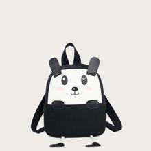 Cartoon Design Canvas Backpack