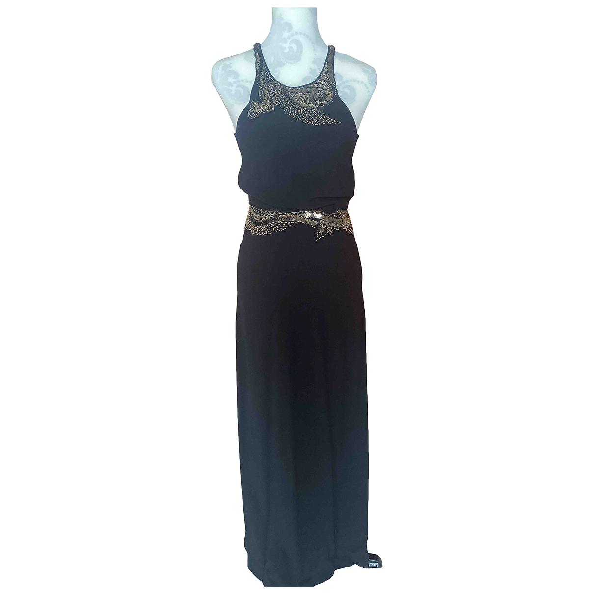 Roberto Cavalli N Black Silk dress for Women 40 IT