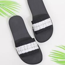 Two Tone Wide Fit Slides