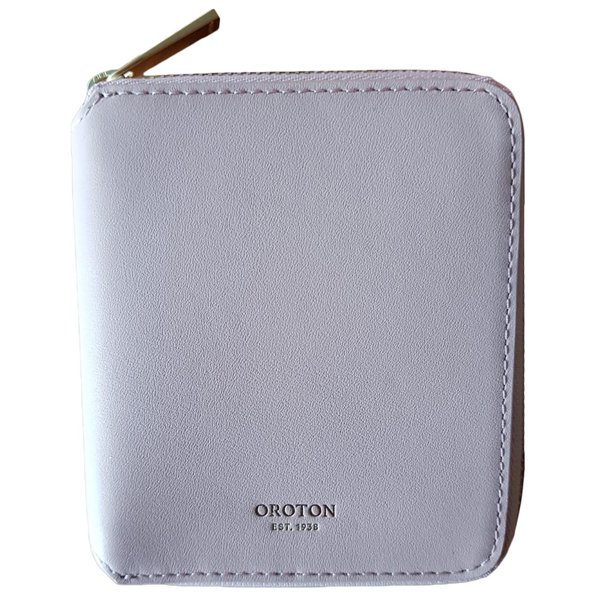 Oroton \N Leather Purses, wallet & cases for Women \N
