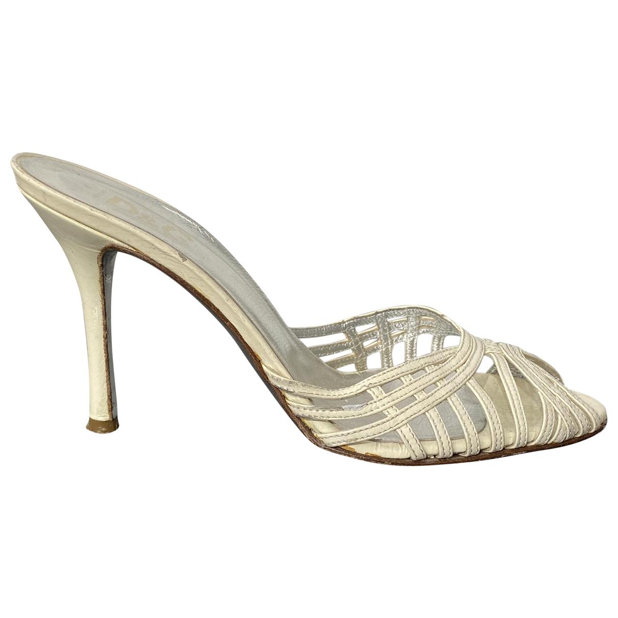 Sandalias de Cuero D&g