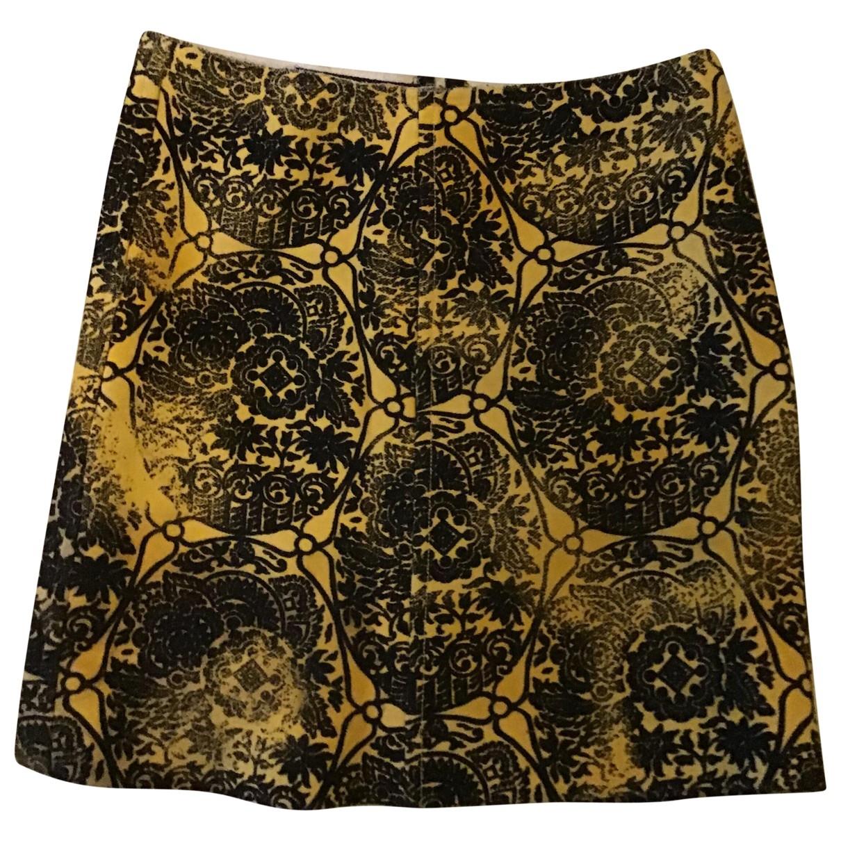 Prada - Jupe   pour femme en laine - jaune