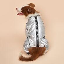 Wasserdichter Jumpsuit fuer Hund