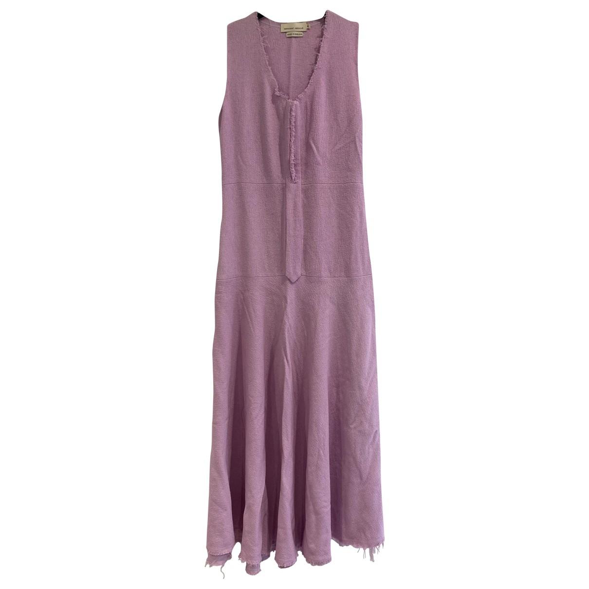 Vestido midi de Lana Merchant Archive