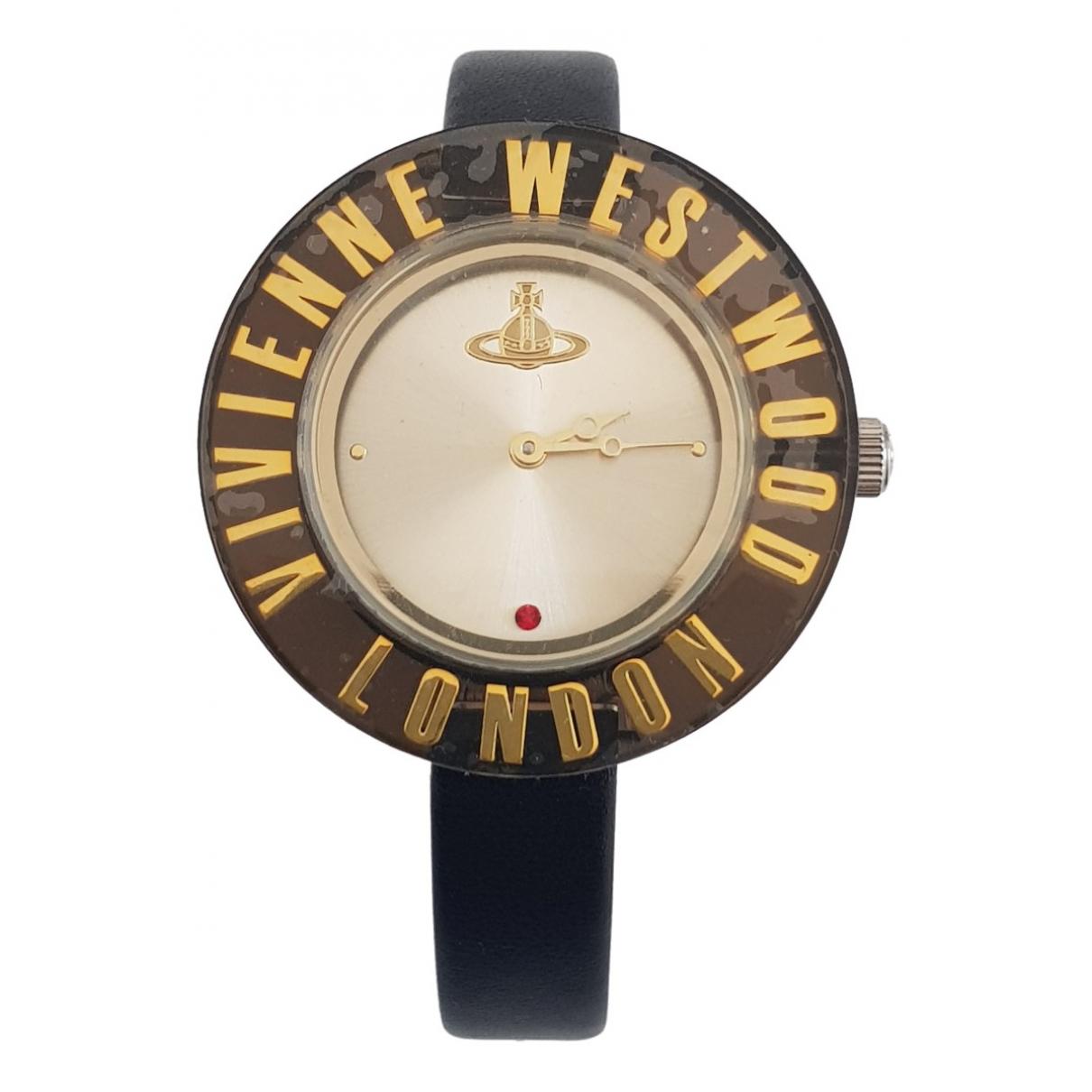 Vivienne Westwood \N Uhr in  Schwarz Stahl