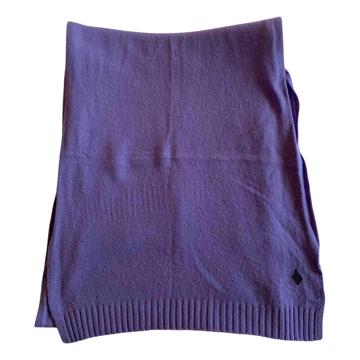 Ballantyne - Foulard   pour femme en cachemire - violet
