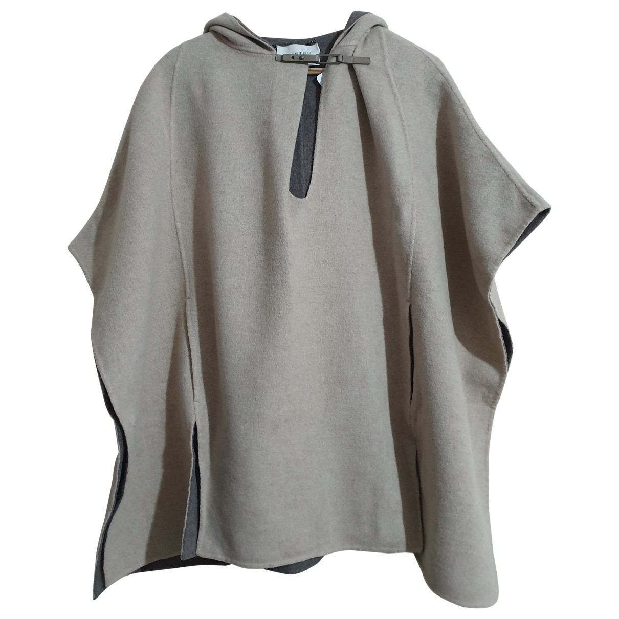 Halston Heritage \N Pullover in  Beige Wolle