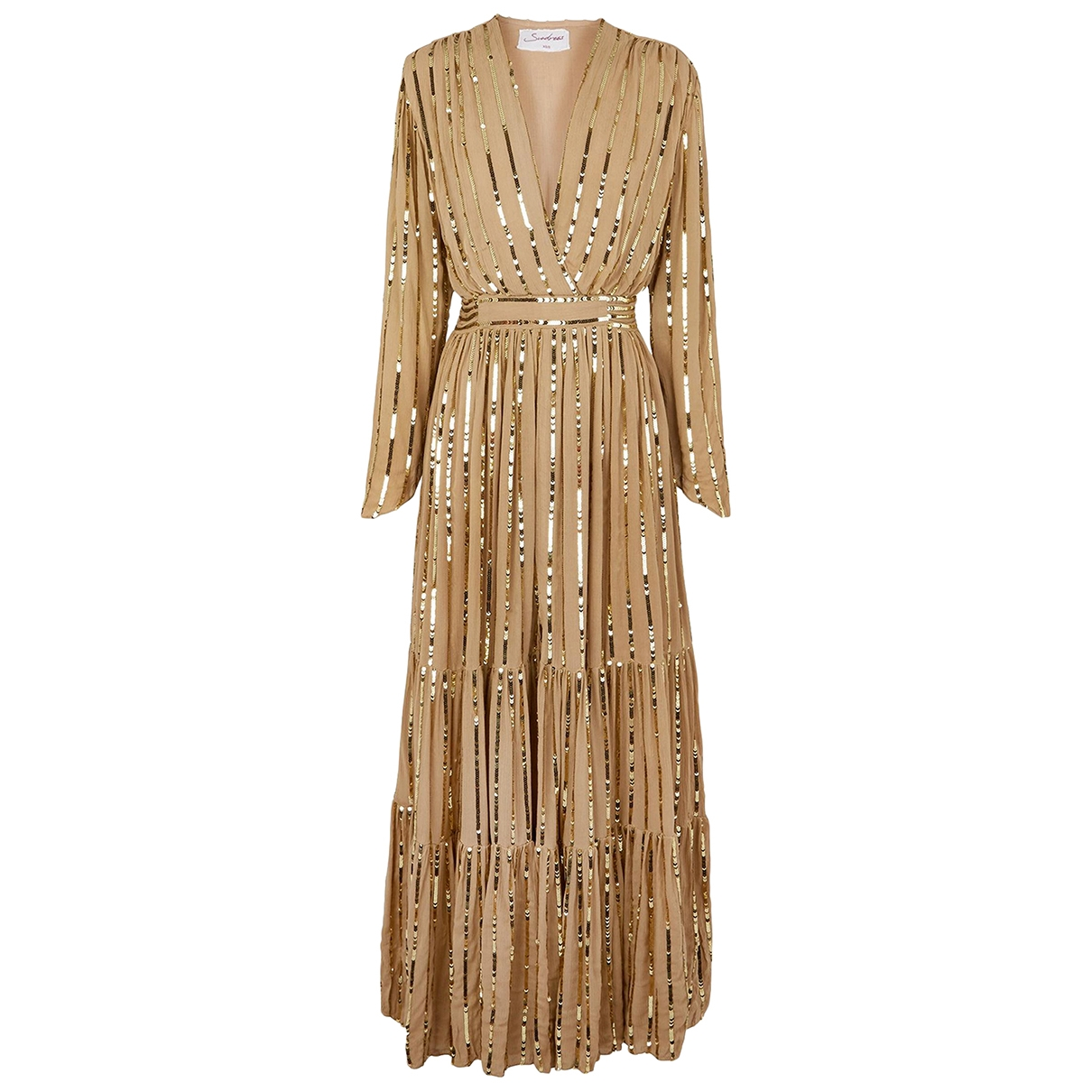 Autre Marque - Robe   pour femme - dore