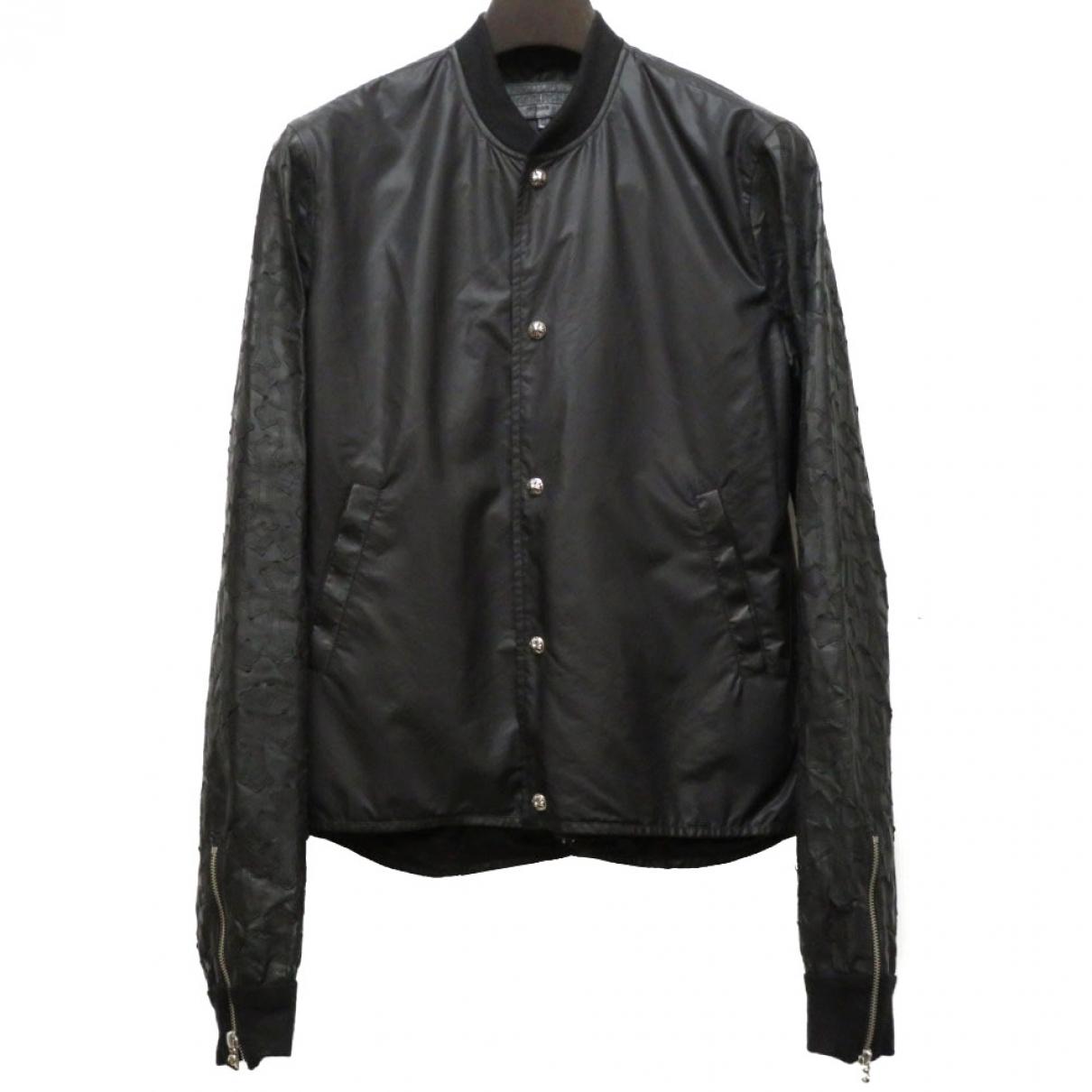 Chrome Hearts \N Black Leather jacket  for Men S International