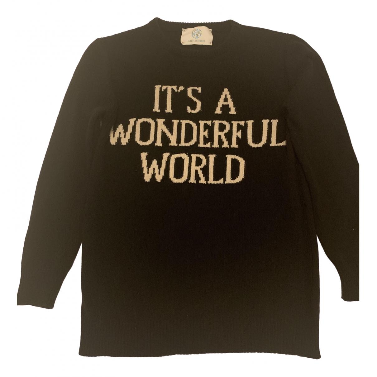 Alberta Ferretti \N Black Cashmere Knitwear for Women 38 IT