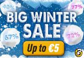 Big Winter Sale Gift Code