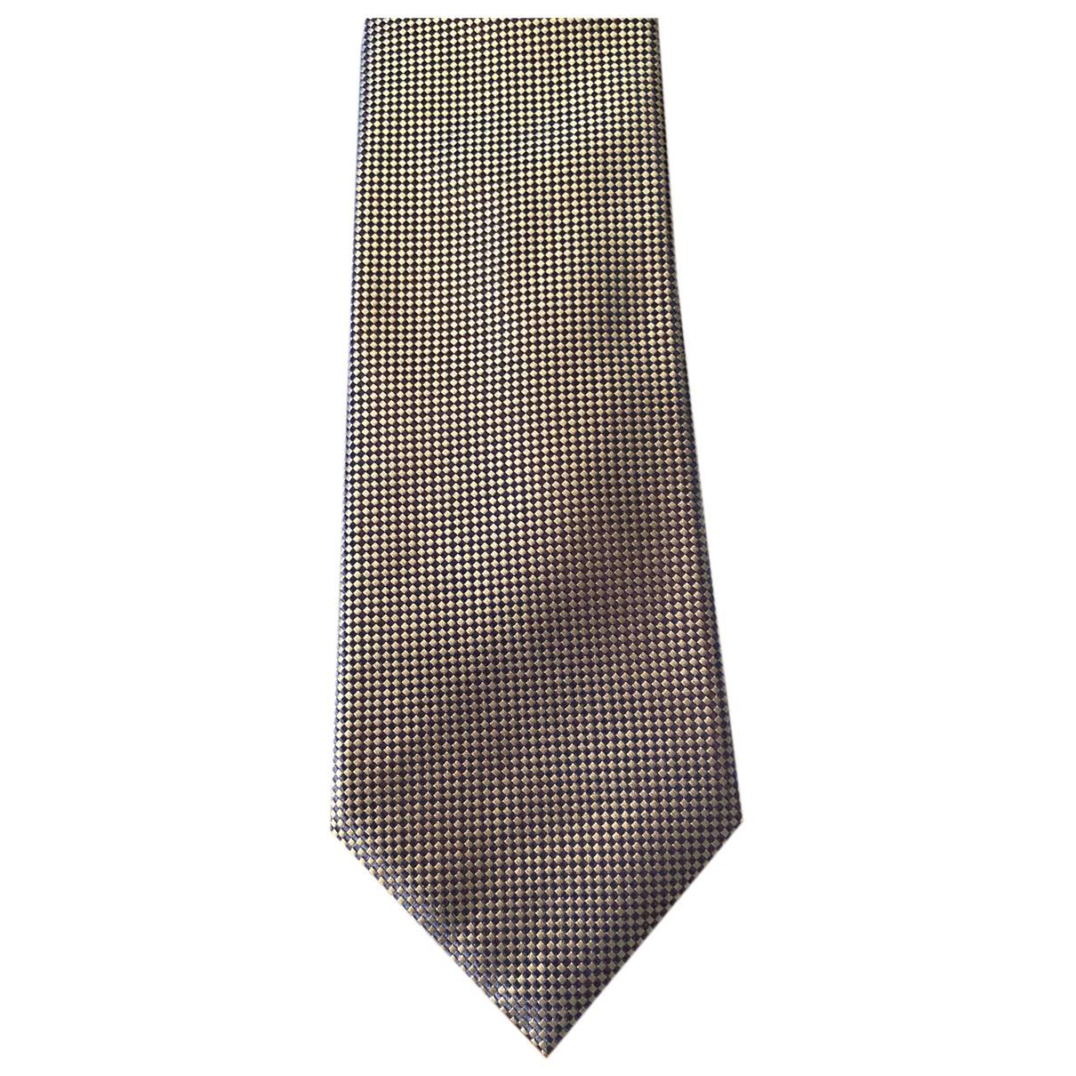 Tom Ford \N Krawatten in  Blau Seide